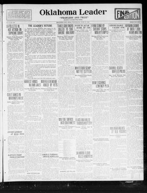 Primary view of Oklahoma Leader (Oklahoma City, Okla.), Vol. 2, No. 260, Ed. 1 Wednesday, June 14, 1922