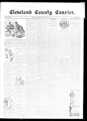 Primary view of object titled 'Cleveland County Courier. (Moore, Okla.), Vol. 3, No. 17, Ed. 1 Saturday, May 18, 1895'.