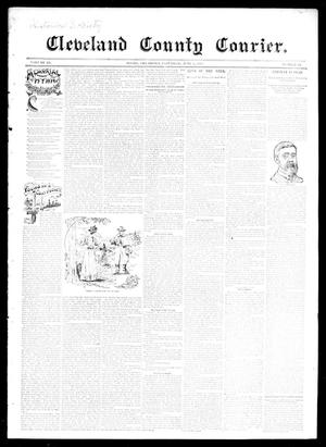 Primary view of object titled 'Cleveland County Courier. (Moore, Okla.), Vol. 3, No. 19, Ed. 1 Saturday, June 1, 1895'.