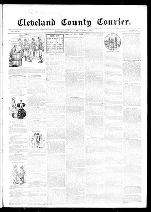 Primary view of object titled 'Cleveland County Courier. (Moore, Okla.), Vol. 3, No. 21, Ed. 1 Saturday, June 15, 1895'.