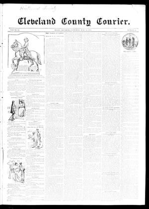 Primary view of object titled 'Cleveland County Courier. (Moore, Okla.), Vol. 3, No. 22, Ed. 1 Saturday, June 22, 1895'.