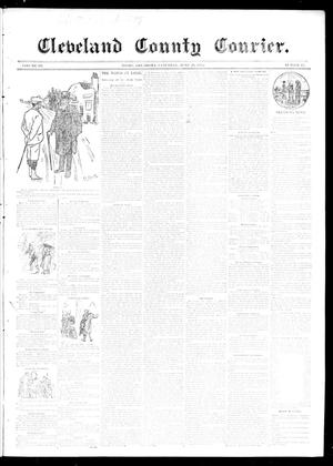 Primary view of object titled 'Cleveland County Courier. (Moore, Okla.), Vol. 3, No. 23, Ed. 1 Saturday, June 29, 1895'.