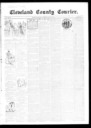 Primary view of object titled 'Cleveland County Courier. (Moore, Okla.), Vol. 3, No. 25, Ed. 1 Saturday, July 13, 1895'.