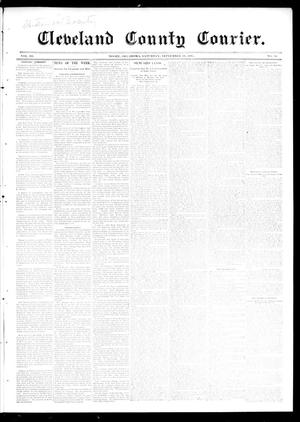 Primary view of object titled 'Cleveland County Courier. (Moore, Okla.), Vol. 3, No. 36, Ed. 1 Thursday, September 26, 1895'.
