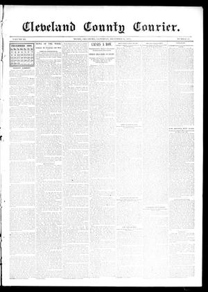 Primary view of object titled 'Cleveland County Courier. (Moore, Okla.), Vol. 3, No. 47, Ed. 1 Saturday, December 14, 1895'.