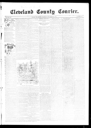Primary view of object titled 'Cleveland County Courier. (Moore, Okla.), Vol. 3, No. 49, Ed. 1 Saturday, December 28, 1895'.