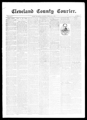 Primary view of object titled 'Cleveland County Courier. (Moore, Okla.), Vol. 4, No. 2, Ed. 1 Saturday, February 1, 1896'.