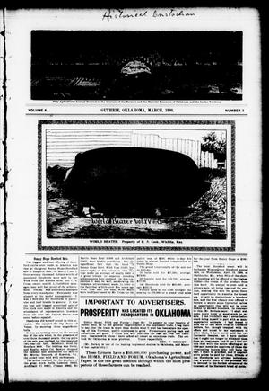 Primary view of object titled 'Home, Field and Forum (Guthrie, Okla.), Vol. 6, No. 3, Ed. 1 Tuesday, March 1, 1898'.