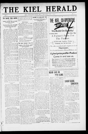 Primary view of object titled 'The Kiel Herald (Kiel, Okla.), Vol. 1, No. 10, Ed. 1 Thursday, June 17, 1909'.