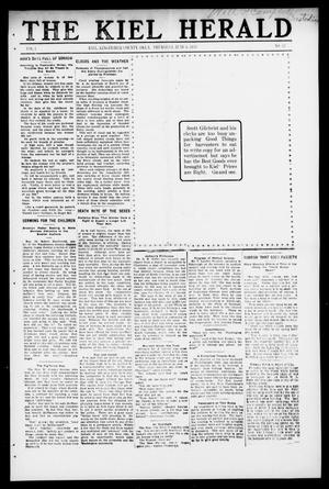 Primary view of object titled 'The Kiel Herald (Kiel, Okla.), Vol. 1, No. 42, Ed. 1 Monday, June 6, 1910'.