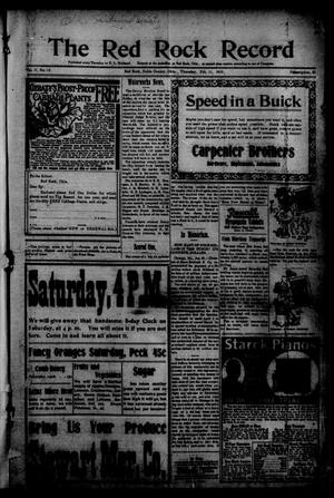 The Red Rock Record (Red Rock, Okla.), Vol. 2, No. 46, Ed. 1 Thursday, February 11, 1915