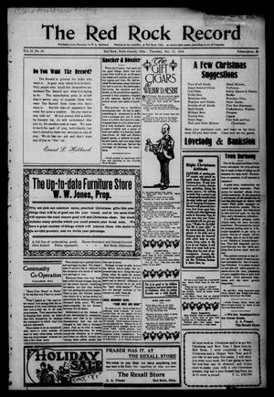 The Red Rock Record (Red Rock, Okla.), Vol. 2, No. 38, Ed. 1 Thursday, December 17, 1914