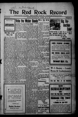 The Red Rock Record (Red Rock, Okla.), Vol. 2, No. 42, Ed. 1 Thursday, January 14, 1915
