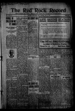 The Red Rock Record (Red Rock, Okla.), Vol. 2, No. 43, Ed. 1 Thursday, January 21, 1915