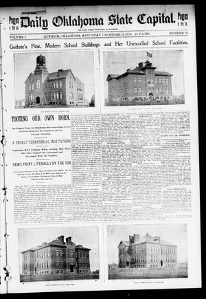 Primary view of object titled 'The Daily Oklahoma State Capital. (Guthrie, Okla.), Vol. 9, No. 36, Ed. 2 Saturday, December 12, 1896'.