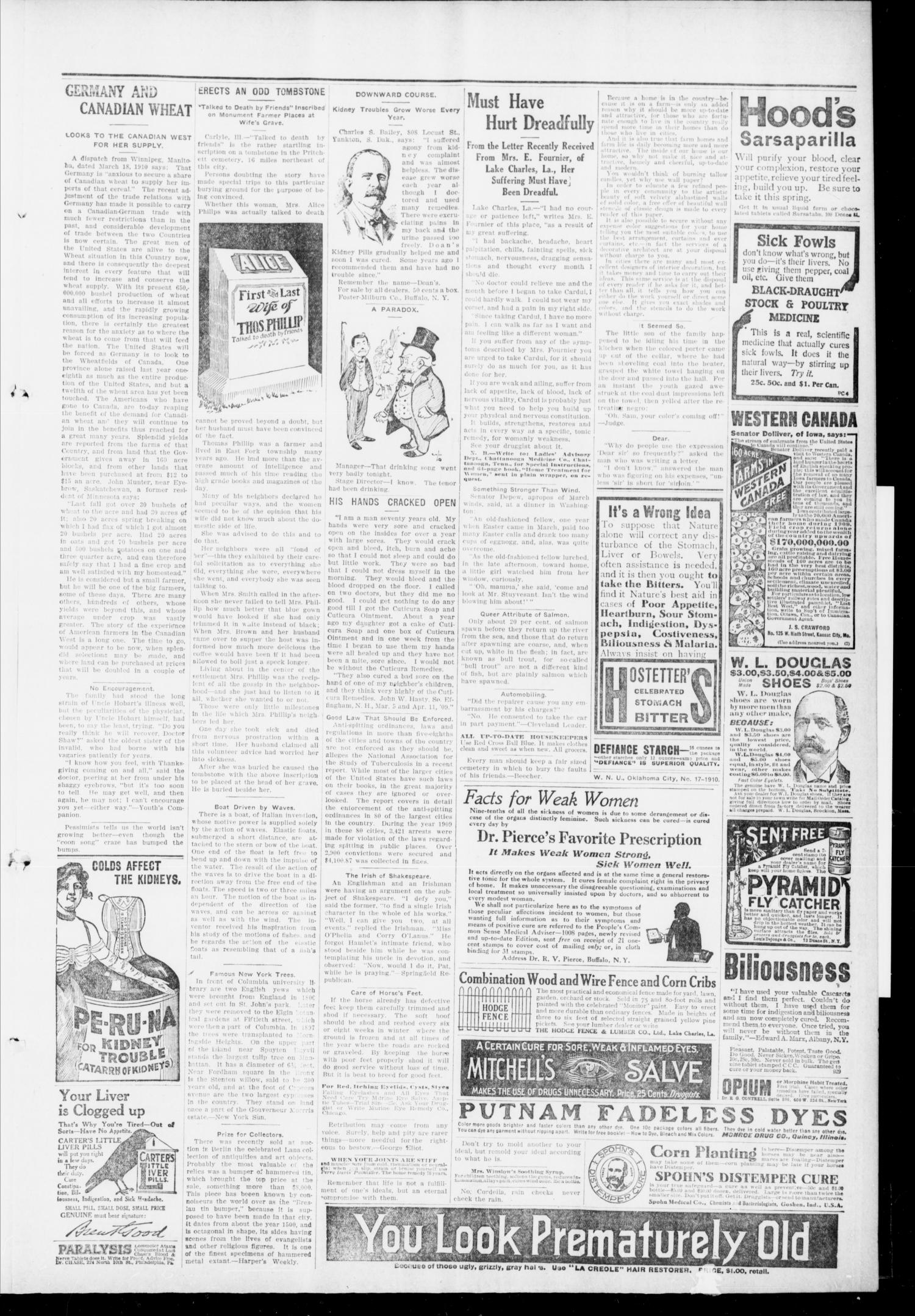The Pittsburg Enterprise (Pittsburg, Okla.), Vol. 6, No. 16, Ed. 1 Thursday, April 21, 1910                                                                                                      [Sequence #]: 5 of 8