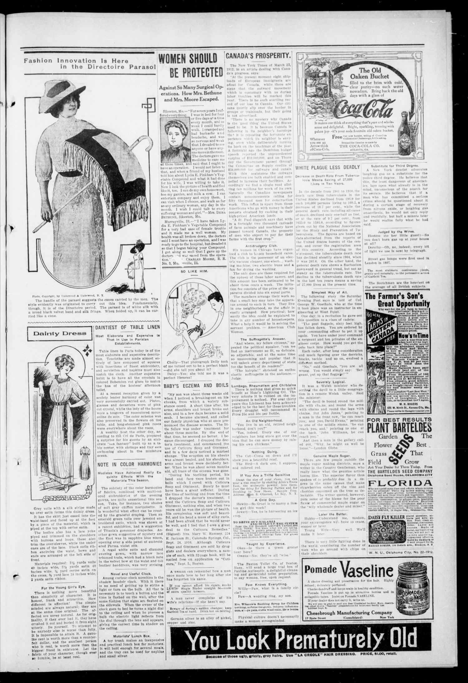 The Pittsburg Enterprise (Pittsburg, Okla.), Vol. 8, No. 21, Ed. 1 Thursday, May 30, 1912                                                                                                      [Sequence #]: 5 of 8