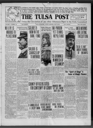 Primary view of object titled 'The Tulsa Post (Tulsa, Okla.), Vol. 2, No. 143, Ed. 1 Sunday, July 9, 1911'.