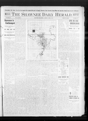 Primary view of object titled 'The Shawnee Daily Herald. (Shawnee, Okla.), Vol. 14, No. 283, Ed. 1 Sunday, June 5, 1910'.