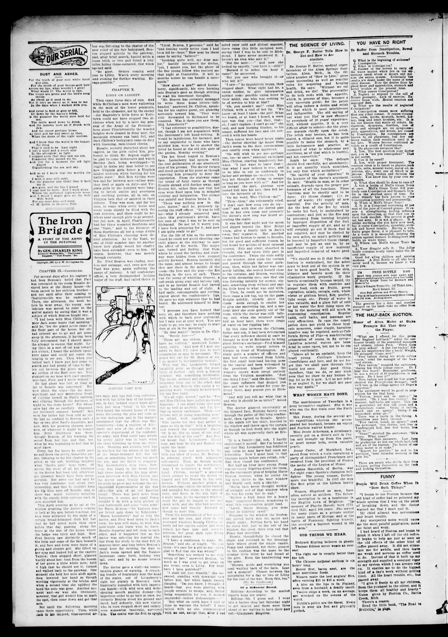 The Hennessey Clipper. (Hennessey, Okla.), Vol. 16, No. 24, Ed. 1 Thursday, November 9, 1905                                                                                                      [Sequence #]: 2 of 8