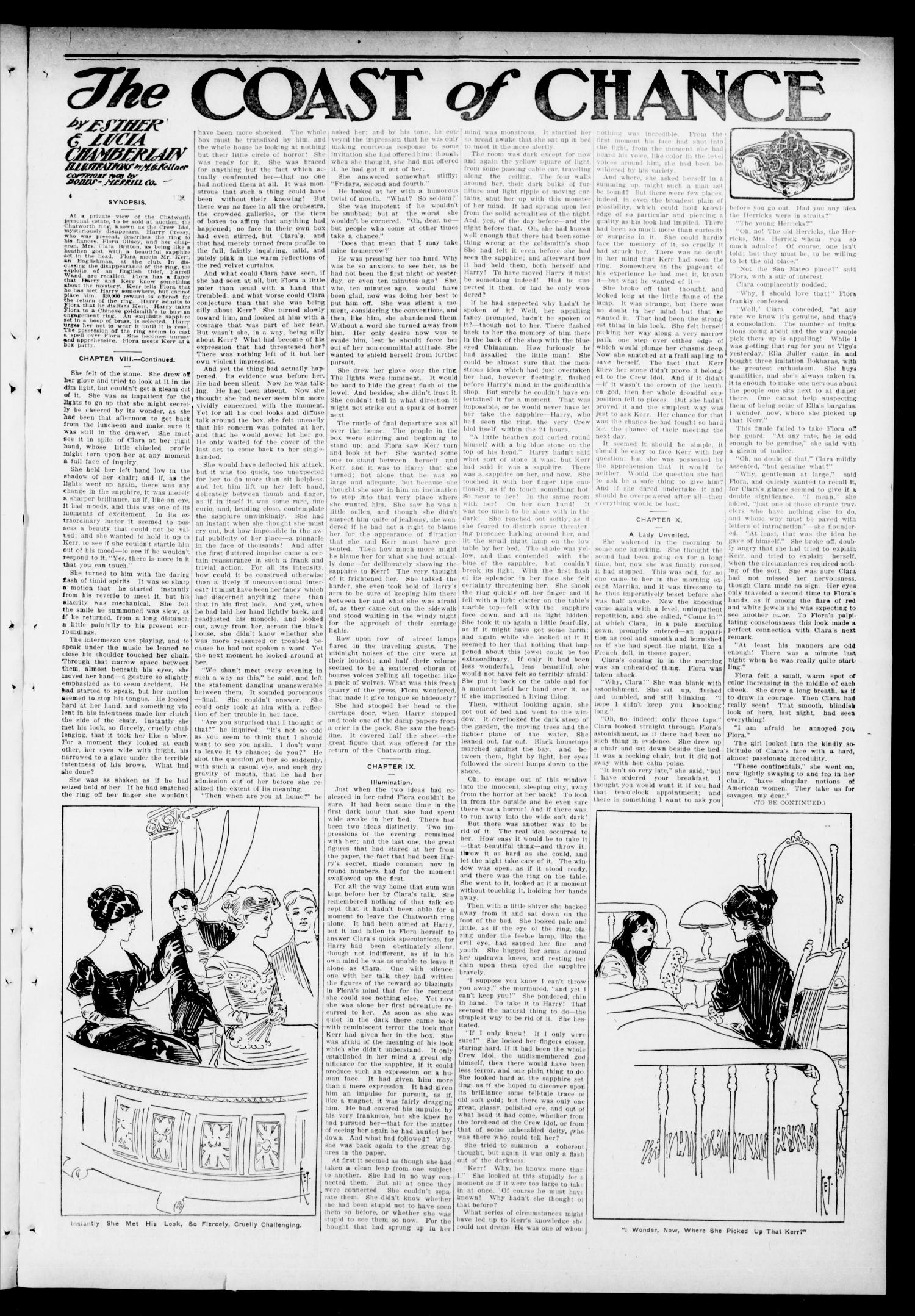 The Hennessey Clipper (Hennessey, Okla.), Vol. 21, No. 19, Ed. 1 Thursday, September 22, 1910                                                                                                      [Sequence #]: 3 of 8