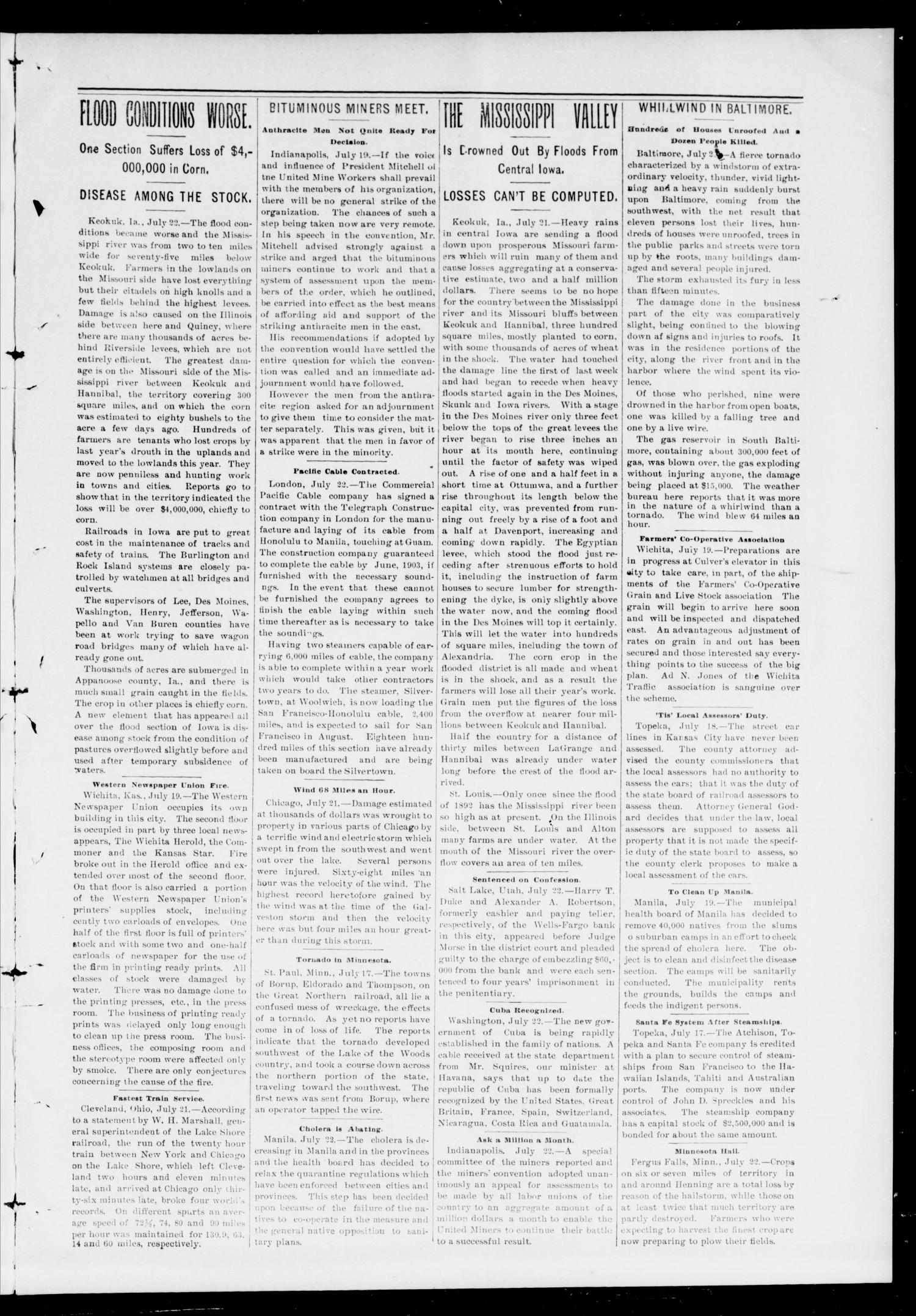 The Record. (Noble, Okla.), Vol. 1, No. 23, Ed. 1 Thursday, July 24, 1902                                                                                                      [Sequence #]: 3 of 8