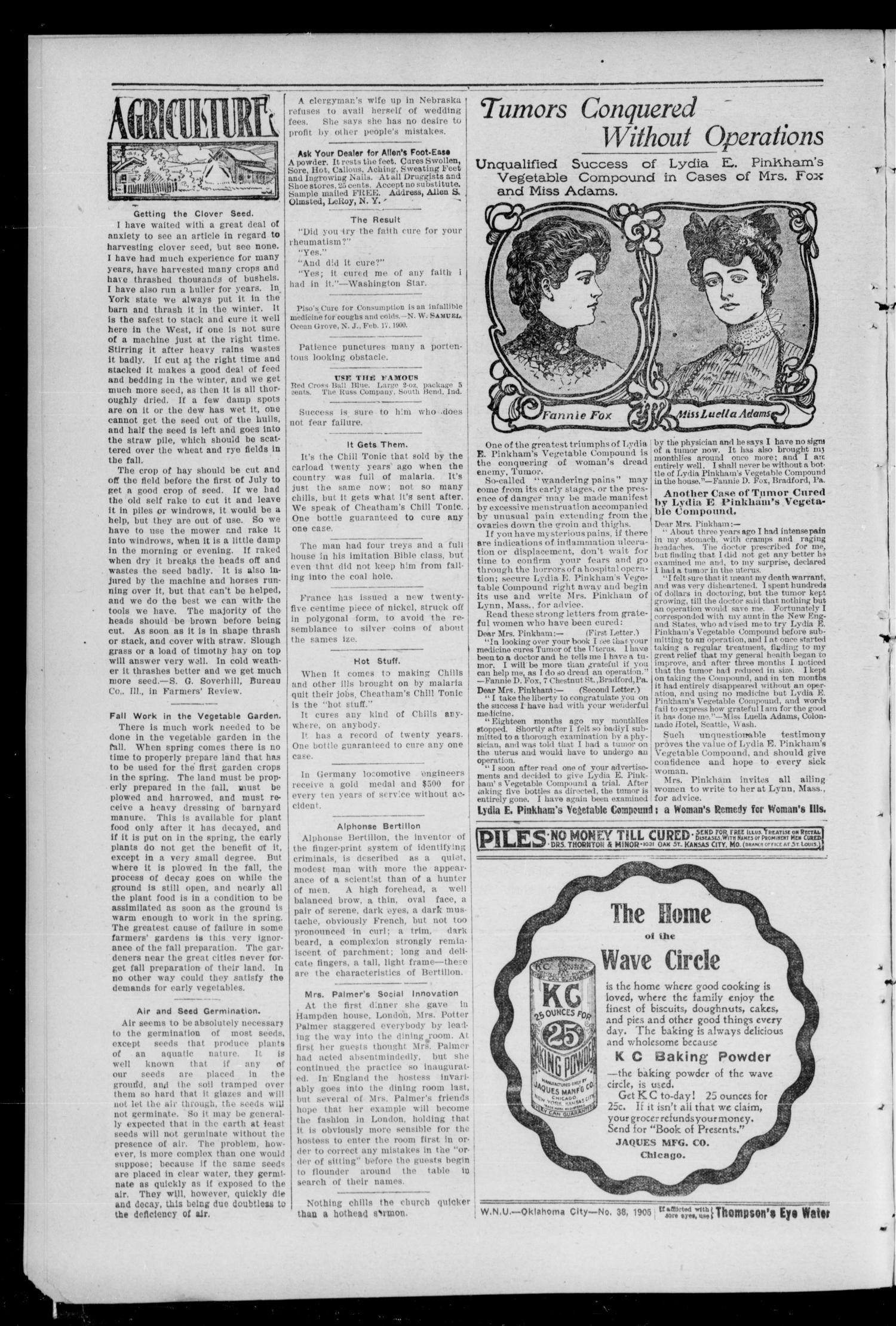 Davenport Leader (Davenport, Okla.), Vol. 2, No. 21, Ed. 1 Thursday, September 21, 1905                                                                                                      [Sequence #]: 2 of 10