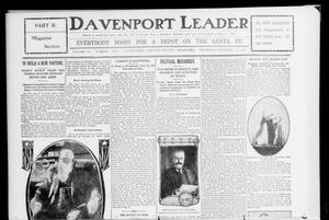 Primary view of object titled 'Davenport Leader (Davenport, Okla.), Vol. 2, No. 23, Ed. 2 Thursday, October 5, 1905'.