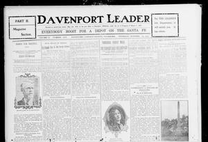 Primary view of object titled 'Davenport Leader (Davenport, Okla.), Vol. 2, No. 25, Ed. 2 Thursday, October 19, 1905'.