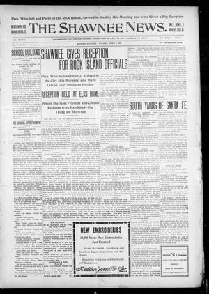 Primary view of object titled 'The Shawnee News. (Shawnee, Okla.), Vol. 10, No. 63, Ed. 1 Saturday, March 2, 1907'.
