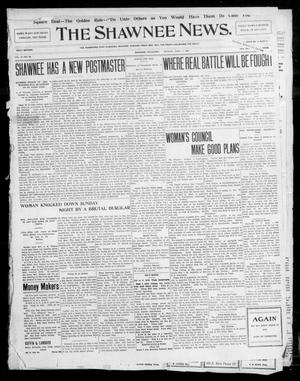 Primary view of object titled 'The Shawnee News. (Shawnee, Okla.), Vol. 10, No. 88, Ed. 1 Monday, April 1, 1907'.