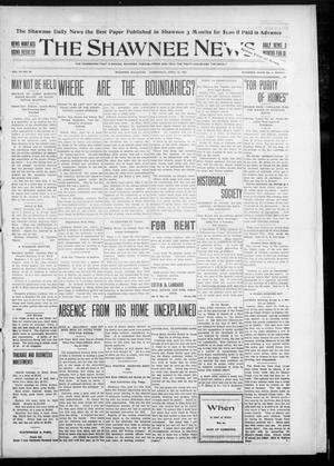 Primary view of object titled 'The Shawnee News. (Shawnee, Okla.), Vol. 10, No. 96, Ed. 1 Wednesday, April 10, 1907'.