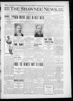 Primary view of object titled 'The Shawnee News. (Shawnee, Okla.), Vol. 10, No. 99, Ed. 1 Saturday, April 13, 1907'.