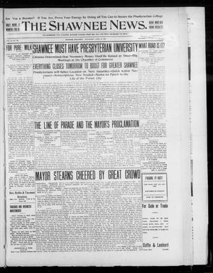 Primary view of object titled 'The Shawnee News. (Shawnee, Okla.), Vol. 10, No. 109, Ed. 1 Wednesday, April 24, 1907'.
