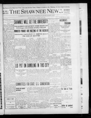Primary view of object titled 'The Shawnee News. (Shawnee, Okla.), Vol. 10, No. 110, Ed. 1 Thursday, April 25, 1907'.