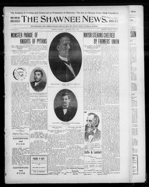 Primary view of object titled 'The Shawnee News. (Shawnee, Okla.), Vol. 10, No. 115, Ed. 1 Wednesday, May 1, 1907'.