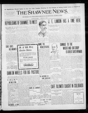 Primary view of object titled 'The Shawnee News. (Shawnee, Okla.), Vol. 10, No. 123, Ed. 1 Friday, May 10, 1907'.