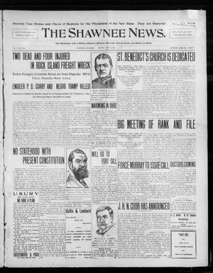 Primary view of object titled 'The Shawnee News. (Shawnee, Okla.), Vol. 10, No. 125, Ed. 1 Monday, May 13, 1907'.