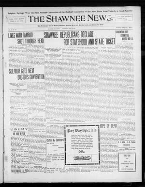 Primary view of object titled 'The Shawnee News. (Shawnee, Okla.), Vol. 10, No. 127, Ed. 1 Wednesday, May 15, 1907'.