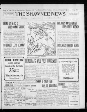 Primary view of object titled 'The Shawnee News. (Shawnee, Okla.), Vol. 10, No. 128, Ed. 1 Thursday, May 16, 1907'.