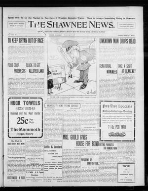 Primary view of object titled 'The Shawnee News. (Shawnee, Okla.), Vol. 10, No. 129, Ed. 1 Friday, May 17, 1907'.