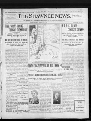 Primary view of object titled 'The Shawnee News. (Shawnee, Okla.), Vol. 10, No. 137, Ed. 1 Monday, May 27, 1907'.