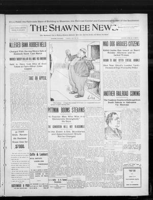 Primary view of object titled 'The Shawnee News. (Shawnee, Okla.), Vol. 10, No. 138, Ed. 1 Tuesday, May 28, 1907'.