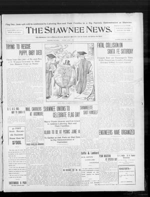 Primary view of object titled 'The Shawnee News. (Shawnee, Okla.), Vol. 10, No. 143, Ed. 1 Monday, June 3, 1907'.