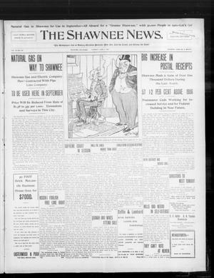 Primary view of object titled 'The Shawnee News. (Shawnee, Okla.), Vol. 10, No. 144, Ed. 1 Tuesday, June 4, 1907'.