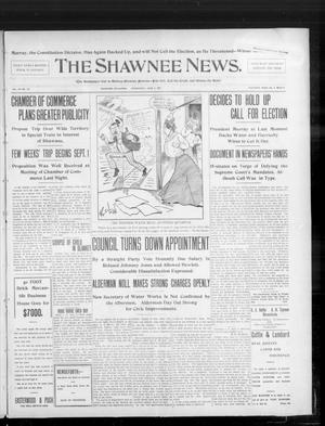 Primary view of object titled 'The Shawnee News. (Shawnee, Okla.), Vol. 10, No. 145, Ed. 1 Wednesday, June 5, 1907'.