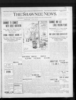 Primary view of object titled 'The Shawnee News. (Shawnee, Okla.), Vol. 10, No. 146, Ed. 1 Thursday, June 6, 1907'.