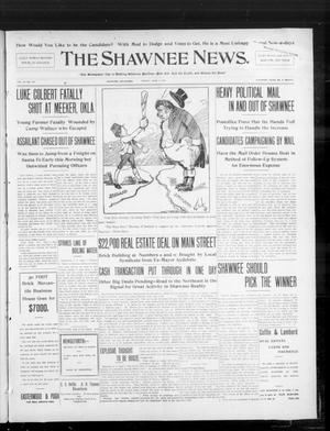 Primary view of object titled 'The Shawnee News. (Shawnee, Okla.), Vol. 10, No. 147, Ed. 1 Friday, June 7, 1907'.
