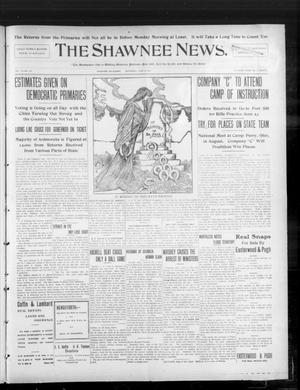Primary view of object titled 'The Shawnee News. (Shawnee, Okla.), Vol. 10, No. 147, Ed. 1 Saturday, June 8, 1907'.