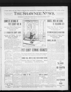 Primary view of object titled 'The Shawnee News. (Shawnee, Okla.), Vol. 10, No. 149, Ed. 1 Tuesday, June 11, 1907'.